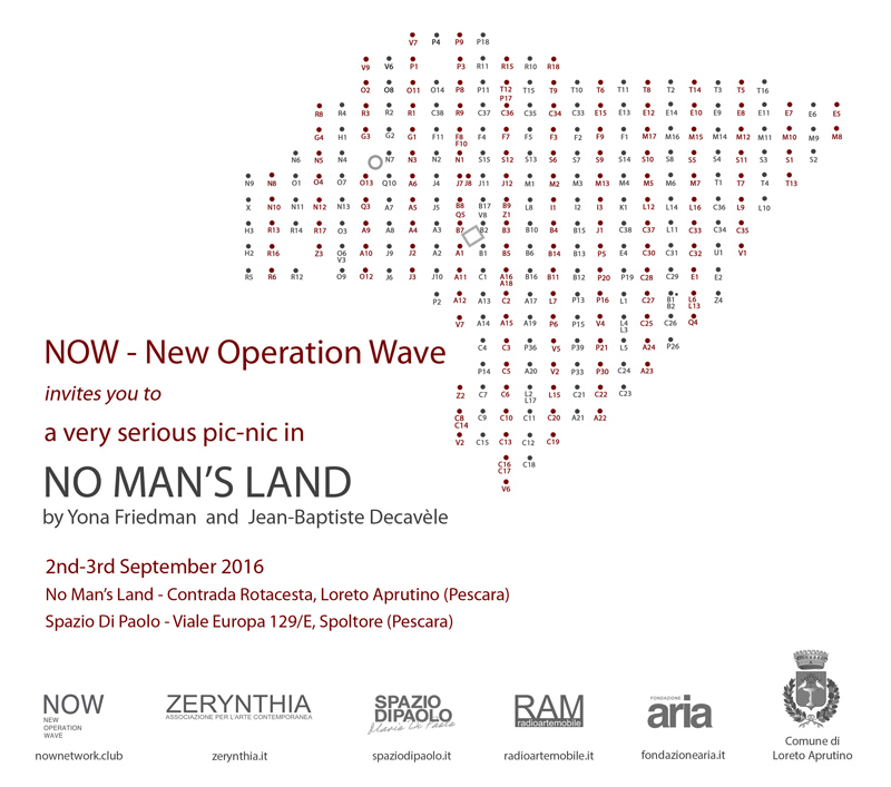 NOW No Man's Land invitation